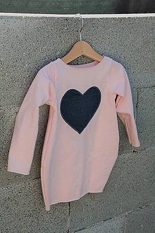 """Detské oblečenie - Teplákové balónové šaty/tunika """"mama a dcéra"""" Caroline - 11090761_"""