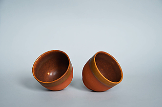 Nádoby - Brown teabowl - 11091794_
