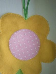 Detské doplnky - Sponkovník - labuť, kvet, lienka, sloník, jednorožec, medúza, mráčik,sova, mačka,korunka pre princeznú, žirafka, srdce (Sponkovník - kvet) - 11090618_