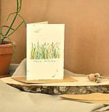 Papiernictvo - Pohľadnica k narodeninám - 11090340_