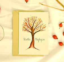 Papiernictvo - Pohľadnica - ,,strom,, - 11090008_