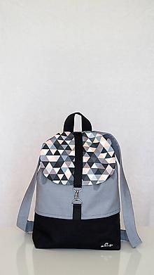Batohy - Batoh- trojuholník - 11091082_