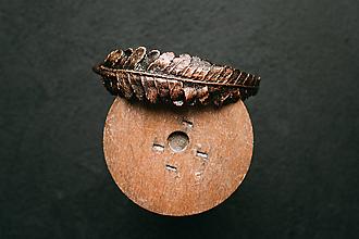 Náramky - Náramok papraď - 11090547_