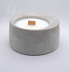 Svietidlá a sviečky - Betonová sviečka - 11090053_