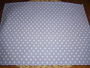 Textil - Obrúsok na desiatu bodky na fialovej - 11090657_