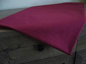Úžitkový textil - Obrus veľký vínový - 11091786_