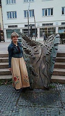 Sukne - Lanová sukňa. - 11093133_