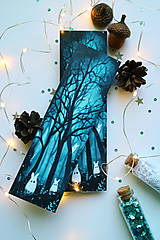 Papiernictvo - Strážcovia lesa/ knižná záložka - 11094339_
