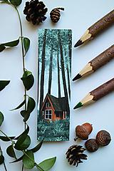 Papiernictvo - V lone prírody/ knižná záložka - 11094417_