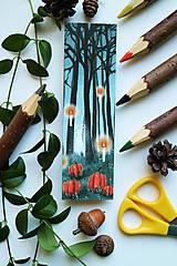Papiernictvo - Duch lesa/ knižná záložka - 11094495_