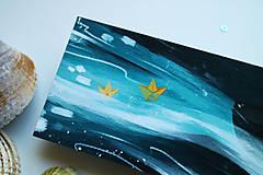 Papiernictvo - Veľrybka/ knižná záložka - 11094504_