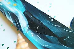 Papiernictvo - Veľrybka/ knižná záložka - 11094507_