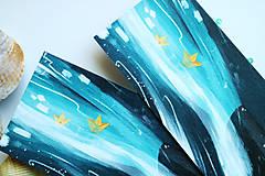 Papiernictvo - Veľrybka/ knižná záložka - 11094515_