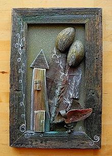 Obrazy - Zelené orechové stromy - 11093047_