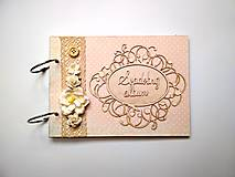Fotoalbum svadobný * kniha hostí * album A5