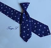 Detské doplnky - set OTEC A SYN (pánska + detská kravata) - 11093954_