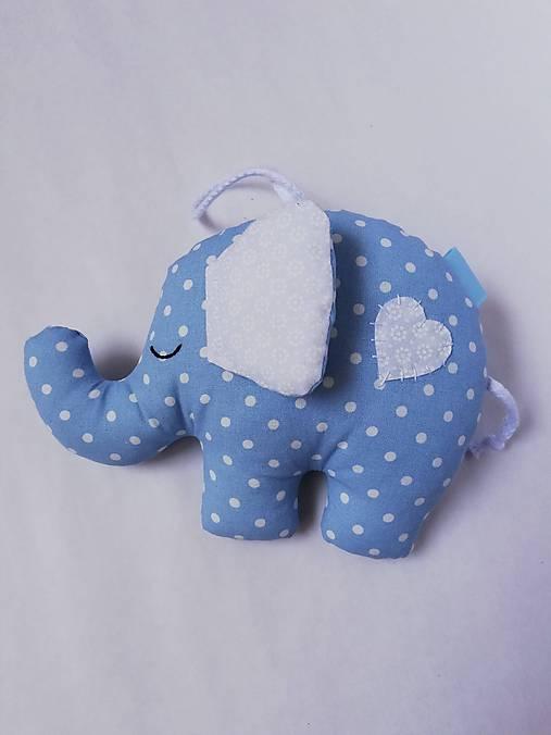 Sloník - hračka (Modrá)