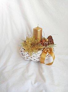 Dekorácie - Vianočný aranžmán - 11093392_