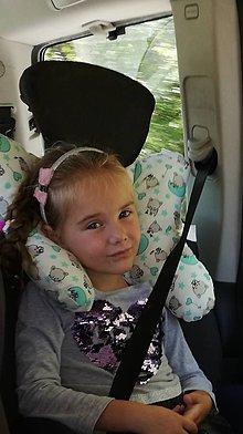 Textil - Cestovný vankúšik pre väčšie deti - 11094635_