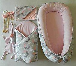 "Textil - Velký set do pôrodnice ""mesiačik"" - 11098060_"