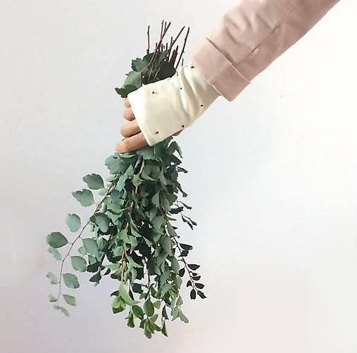 Rukavice - rukavice .ttt (Biela) - 11097265_