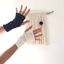 Rukavice - rukavice .ttt (Čierna) - 11097275_