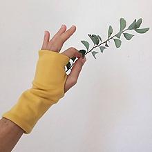 Rukavice - rukavice .ttt (Žltá) - 11097302_