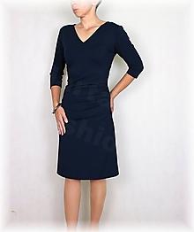Šaty - Šaty s řasením vz.494 (více barev) - 11097162_