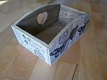 Krabičky - vintage motýľ košík - 11094928_
