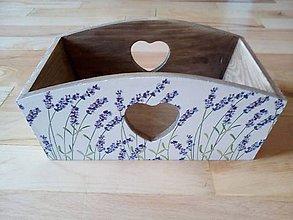 Krabičky - levanduľový košík - 11096720_