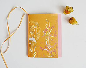 Papiernictvo - Jesenné zápisníky (Oranžová) - 11097083_