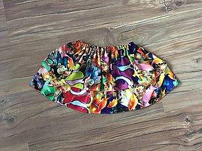 Detské oblečenie - Sukňa Morský svet - 11097227_