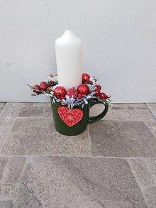 Dekorácie - Vianočný aranžman - 11097415_