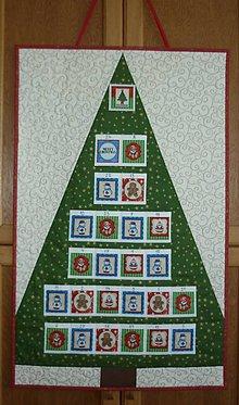 Dekorácie - Adventný kalendár STROMČEK (stromček 13) - 11096170_