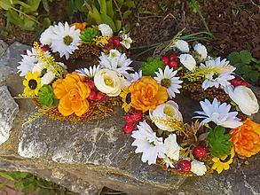 Dekorácie - jesenné venčeky - 11095439_
