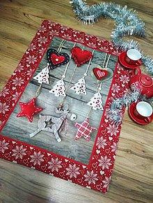 Úžitkový textil - Vianocny stredovy ubrus - 11095249_