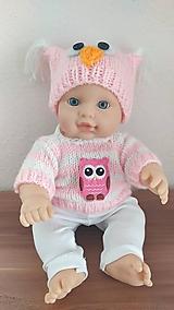 Hračky - Sima oblečenie pre bábiku - 11094842_