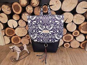 """Batohy - Dámsky batoh ,, zaľúbený """" (Modrá) - 11097942_"""