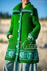 Kabáty - Kabátik  Lotus Flower - 11097147_