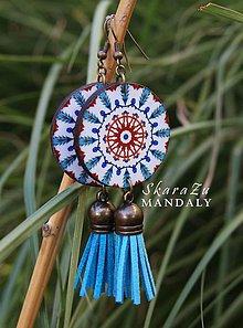 Náušnice - Mandala Iznik - 11095926_