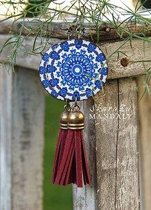 Náušnice - Mandala Iznik - 11096395_