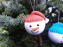 Dekorácie - vianočná ozdoba - sada - 11095962_