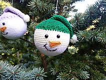 Dekorácie - vianočná ozdoba - sada - 11095966_