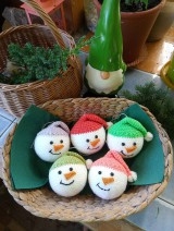 Dekorácie - vianočná ozdoba - sada - 11095980_