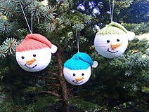 Dekorácie - vianočná ozdoba - sada - 11095981_