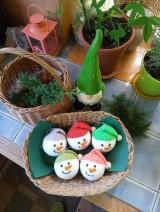 Dekorácie - vianočná ozdoba - sada - 11095984_