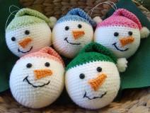 Dekorácie - vianočná ozdoba - sada - 11096000_