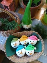 Dekorácie - vianočná ozdoba - sada - 11096013_