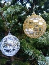 Dekorácie - vianočná ozdoba - sada - 11096083_