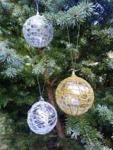 Dekorácie - vianočná ozdoba - sada - 11096094_